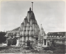 Nemi-Nath temple on the Girnar [Junagadh]